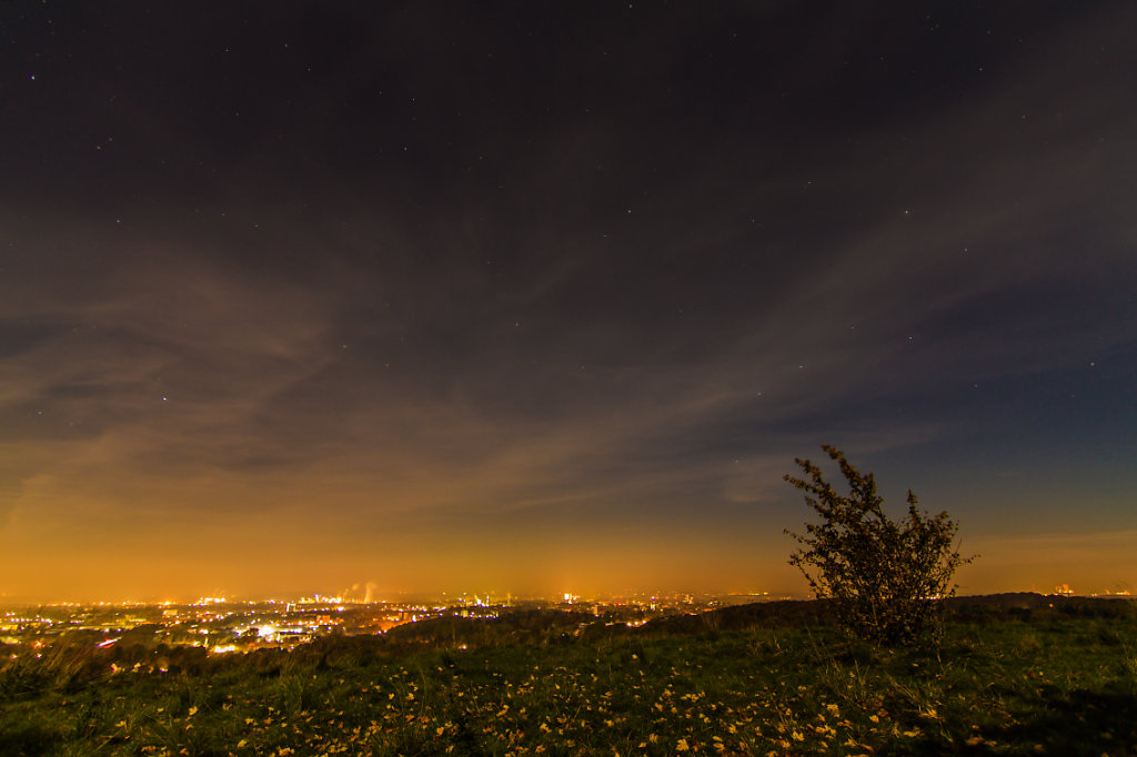 Tippelsberg by night