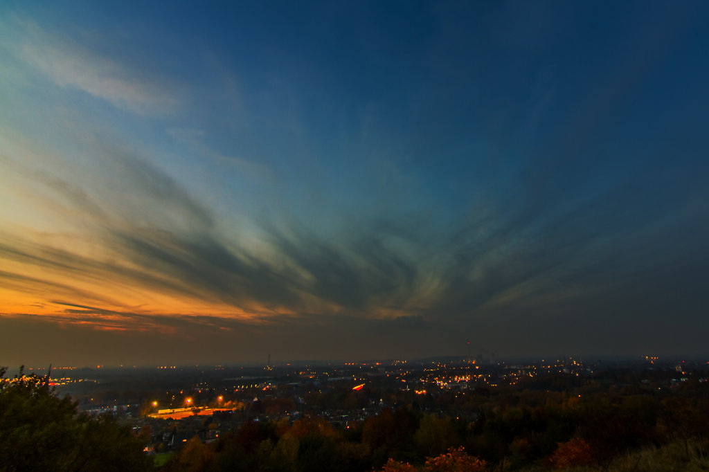 blue hour at Bochum