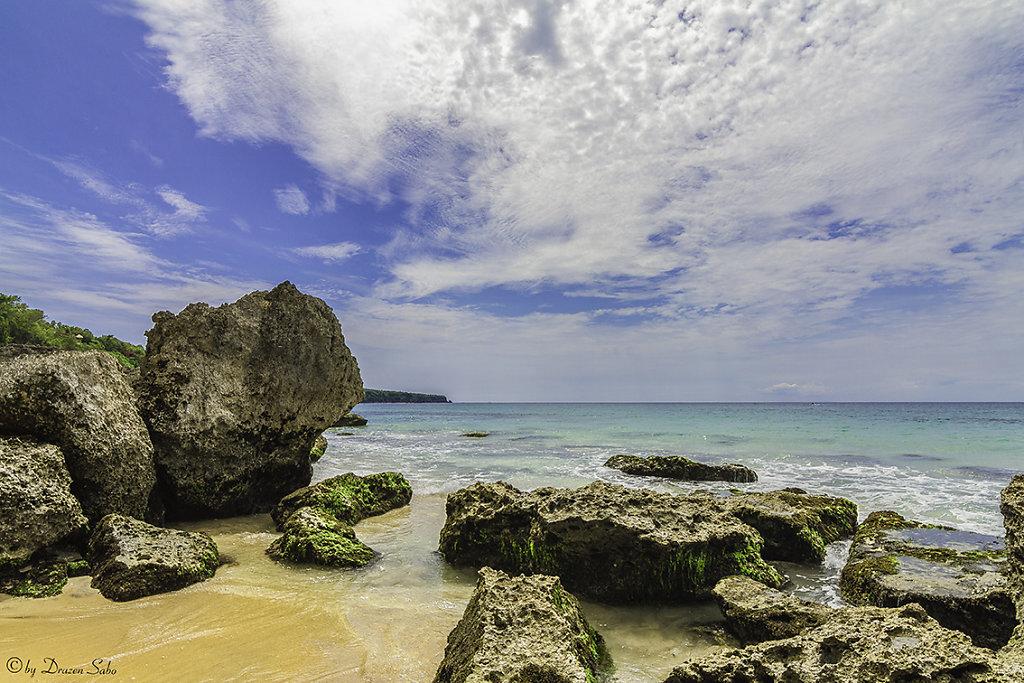 nature beach at bali